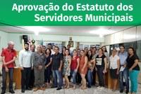 Aprovação do Estatuto dos Servidores Municipais