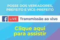 Transmissão ao vivo - Posse 2021